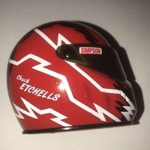 Chuck Etchells Signature Edition Mini Helmet